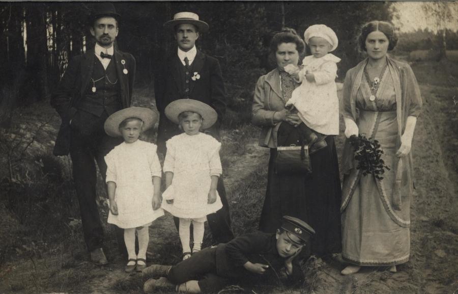Franciszek Wodziczko z rodzina