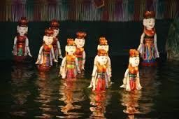 lalki na wodzie