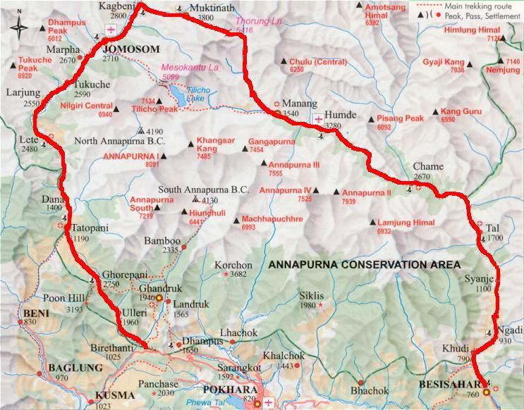 Mapka trasy