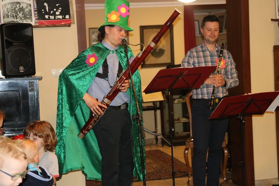 Jak klarnet ścigał się z fagotem